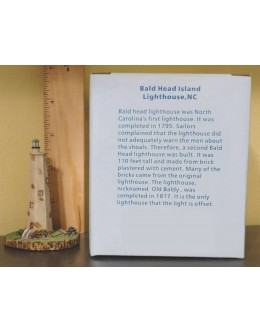 Lighthouse Miniature - Limited Edition - Bald Head, NC