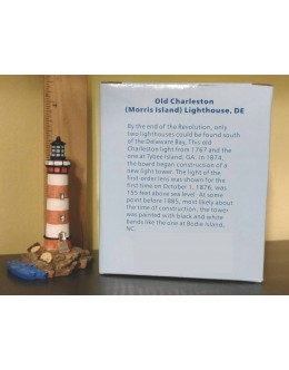 Lighthouse Miniature - Limited Edition - Morris Island, SC