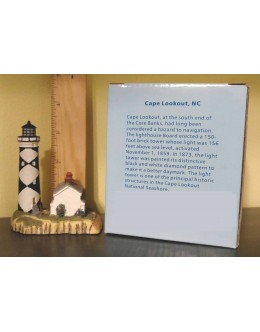 Lighthouse Miniature - Limited Edition - Cape Lookout, NC