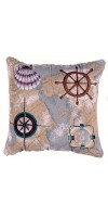 Pillow - NAUTICAL NOVELTIES 18 IN TAPESTRY PILLOW