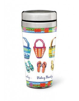 Feeling Beachy Travel Mug