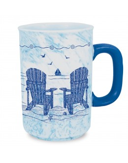 Adirondack Chairs Drinking Mug