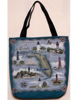 Tote Bag - Lighthouses Of Florida