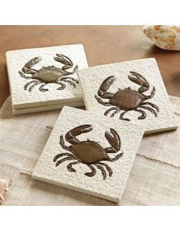Nautical & Sea Life Coasters - Crab -  #50930