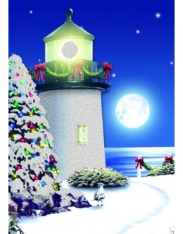 Cards - Moonlit Lighthouse - 66137