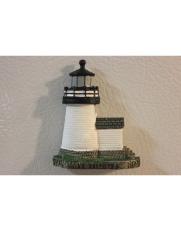 050M Mystic, CT - Lighthouse Magnet