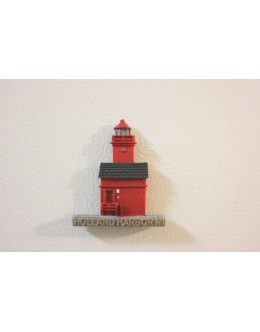 092M Holland Harbor, MI - Lighthouse Magnet