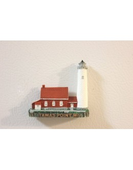 149M Tawas Point, MI - Lighthouse Magnet