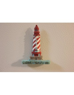 026M White Shoal, MI - Lighthouse Magnet