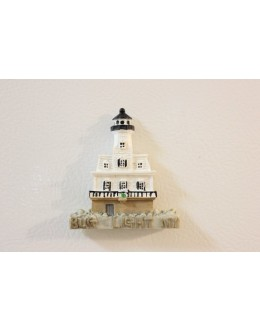 077M Bug Light, NY - Lighthouse Magnet