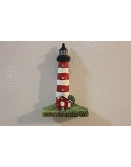 106M Assateague, VA - Lighthouse Magnet