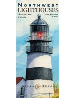 L10060 Northwest Lighthouses: Illustrated Map & Guide