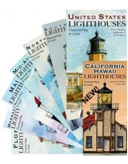 L100FSet - Lighthouse Map & Guide - All 8 Folded Maps