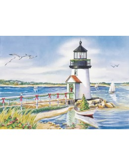 Cards - Lighthouse and Boats- 52673 - Limited Availability