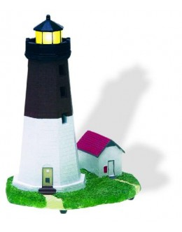 SC193LU Point Judith, RI Lighted (Flashing) Lighthouse Replica