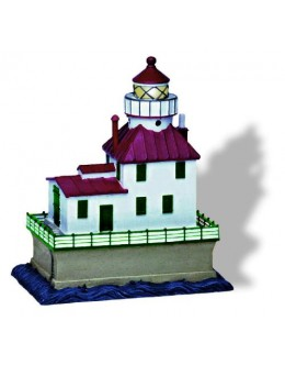SC181LU Ashtabula, OH Lighted (Flashing) Lighthouse Replica