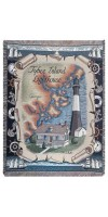 Tybee Island Lighthouse Mid-Size Tapestry Throw