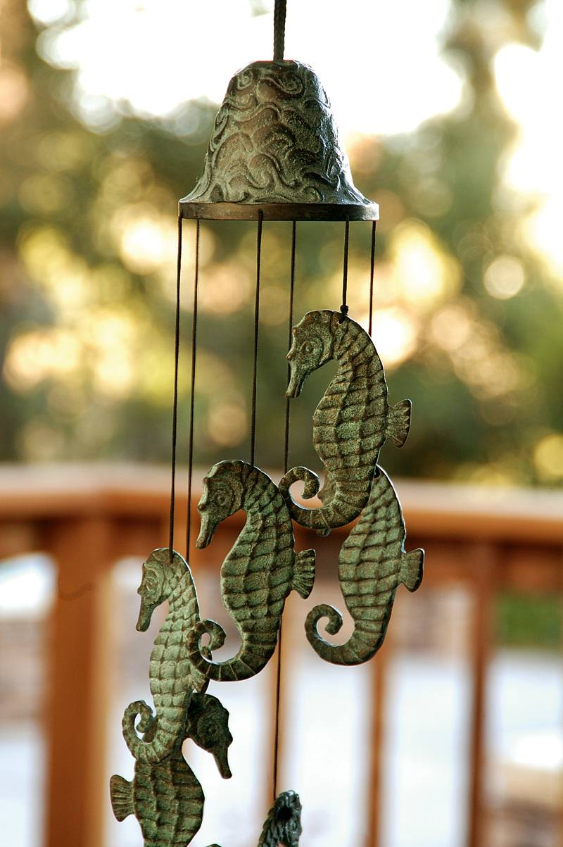 Nautical Garden Bell and Wind Chimes